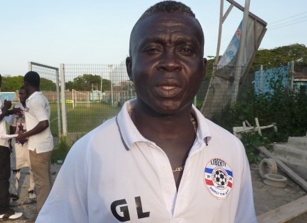 Liberty Professionals coach George Lamptey