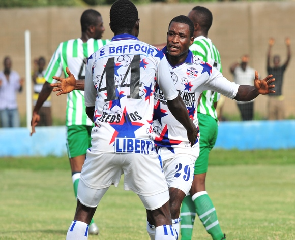 Kennedy Ashia scored for Liberty Professionals