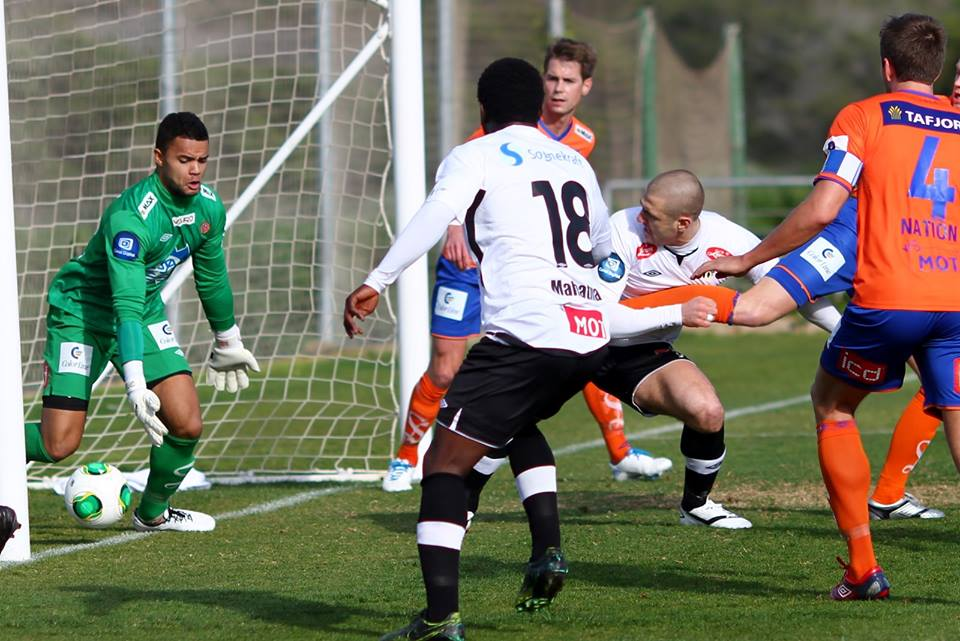 Mahatma Otoo scored for Sogndal on Sunday