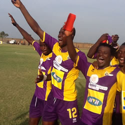 Medeama through to the playoff round of the Confederations Cup