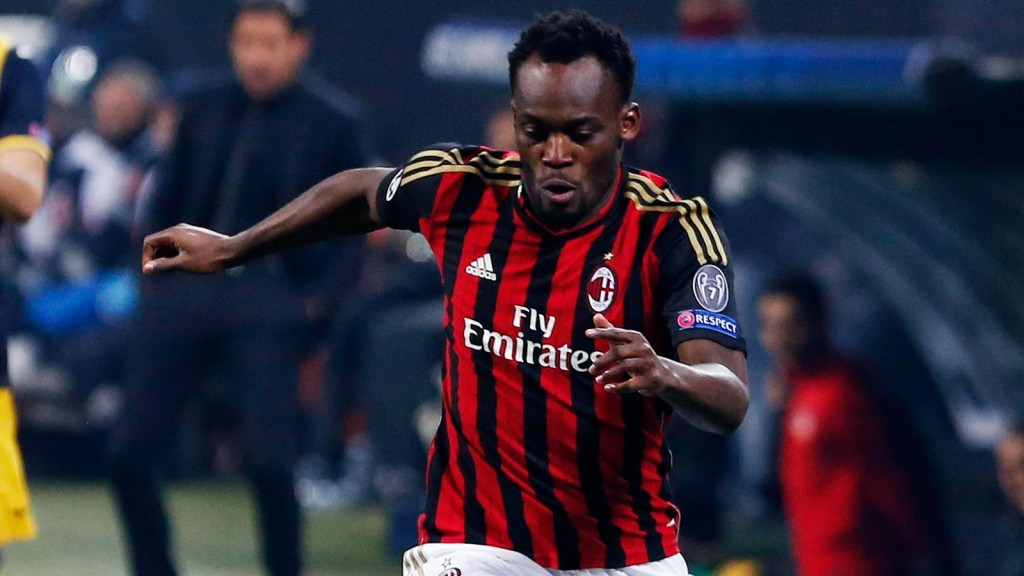 Michael Essien returned but Milan taste defeat