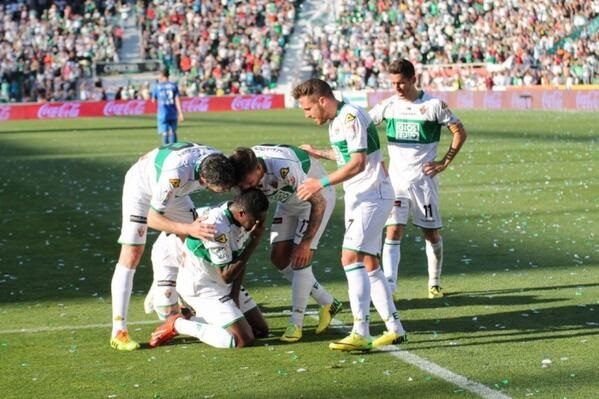 Richmond Boakye-Yiadom scored for Elche FC on Friday night