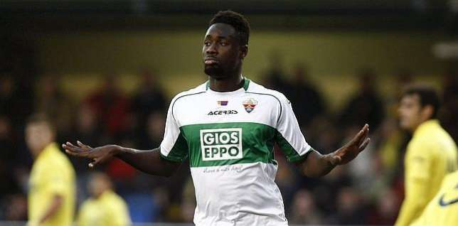 Richmond Boakye Yiadom scored for Elche Performance of Ghanaian stars abroad: Accam and Gyan on the double, Kudemor, Boakye Yiadom, Otoo, Kevin Mensah, Antwi, Wakaso and Basit all on target