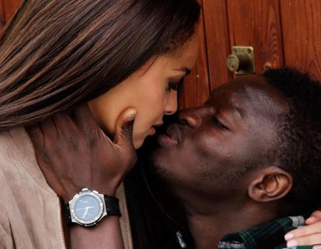 Sulley Muntari and wife Menaye