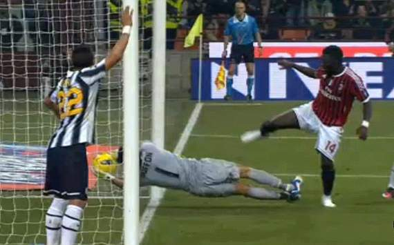 Sulley Muntari's 'ghost goal' against Juventus