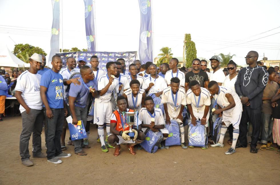 PICTURES: Laryea Kingston inspires Teshie as Las Cala Win Tigo Community Soccer