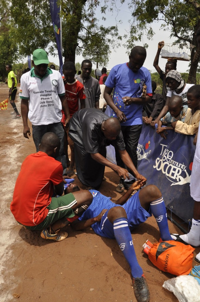 Tigo Community Soccer in Tamale