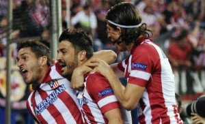 Atletio Madrid shock Barcelona to reach Champions League semi-finals