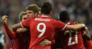European champions Bayern Munich came from behind to claim a 3-1 win over Manchester United to give them a 4-2 aggregate success in their Champions League quarter-final clash.
