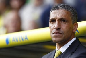 "A Norwich statement said:  ""The decision has been taken to give the club the maximum chance of survival."" Former Newcastle and Birmingham boss Hughton, 55, guided the Canaries to 11th in the Premier League last season. But they have lost four of their last six league games and have scored just 26 goals all season, despite spending heavily on Ricky van Wolfswinkel and Gary Hooper in the summer. Sections of home fans chanted 'we want Hughton out' during the West Brom defeat, but after the match Hughton insisted he was confident of an improvement in form."