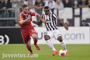 Ghana and Juventus midfielder Kwadwo Asamoah international has cited the team's response to Jimmy Briand's leveller as an important factor behind tonight's 2-1 success over Lyon.