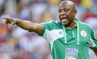 2014 World Cup: Feud between Nigeria FA and coach escalates as Keshi refuses to submit provisional list