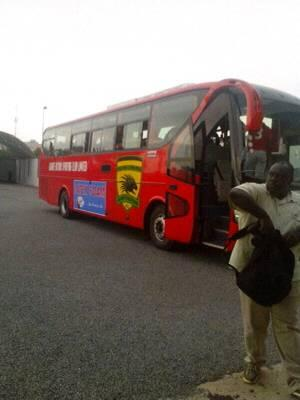 Kotoko arrive at stadium for match against AshGold but Miners absent