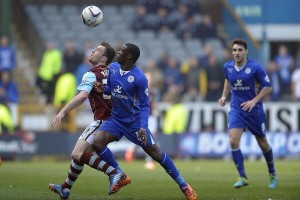2014 World Cup: Leicester City's Ghanaian defender Jeffery Schlupp suffers injury