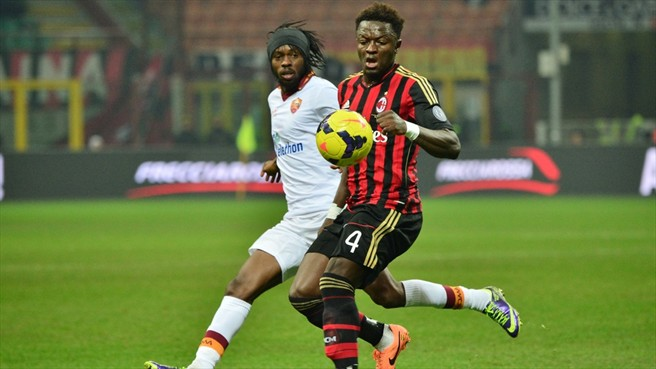 AC Milan manager Clarence Seedorf failed to confirm whether Muntari will start against Atalanta
