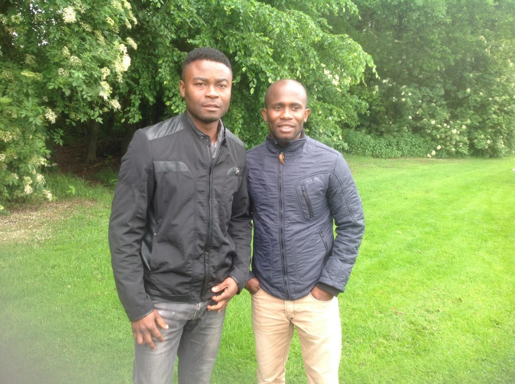 Eric Addo and Matthew Amoah