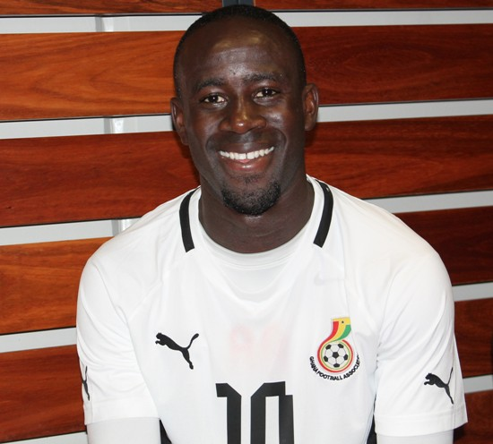 Albert Adomah made thd provisional Ghana squad for the 2014 World Cup