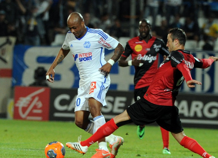 Andre Ayew dazzled for Marseille