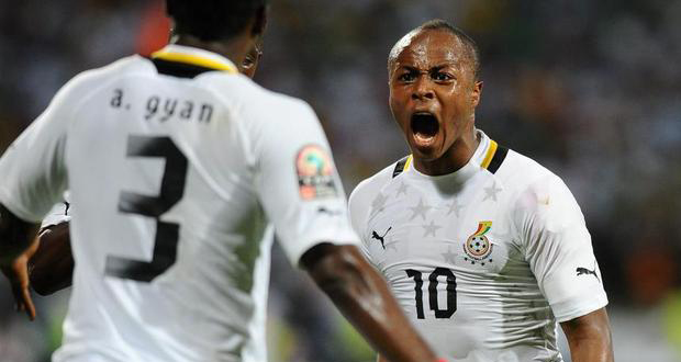 Andre Ayew made his World Cup debut four years ago in South Africa