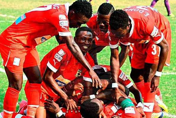 CHAMPIONS: Asante Kotoko retain Premier League title with win over Edubiase