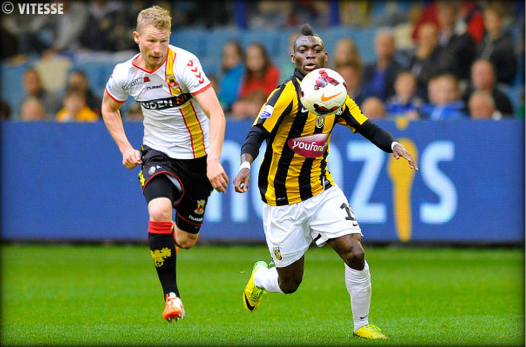 2014 World Cup: Christian Atsu delighted with successful season at Vitesse Arnhem
