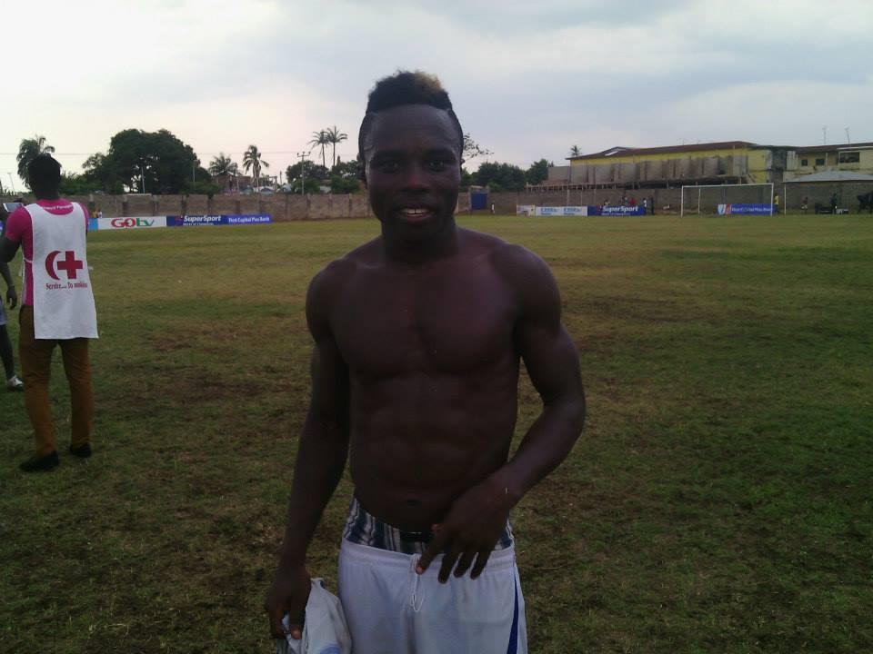 Bechem United's Augustine Okrah is top on Hearts' wishlist