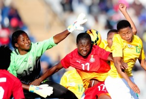 Ghana's female national team handed their South African counterpart a 1-0 defeat in an international friendly at the Dobsonville Stadium in Johannesburg on Sunday.