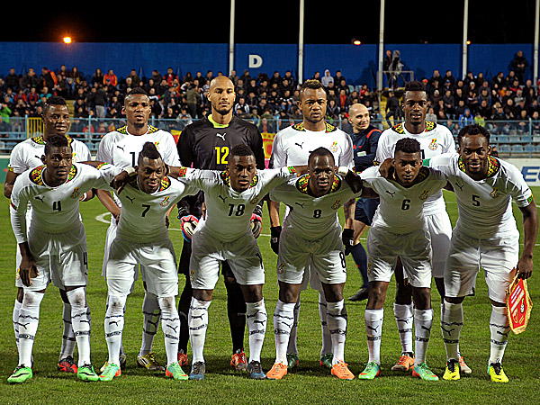 Black Stars will be making third successive appearance at the World Cup in Brazil