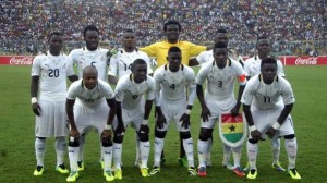 Guinea coach Michel Dussuyer says Ghana are the favourites to win Group E of the 2015 Africa Cup of Nations qualifier reach the tournament in Morocco.