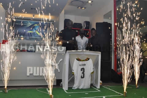 Black Stars' World Cup kit launched