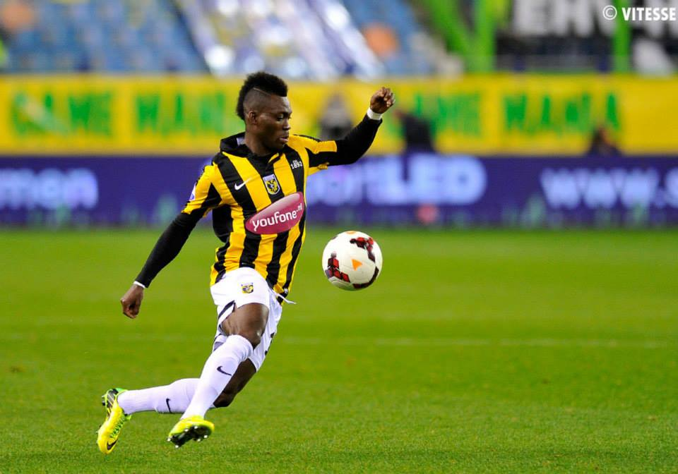 Christian Atsu's Vitesse Arnhem have crashed out of the Europa League Play-offs