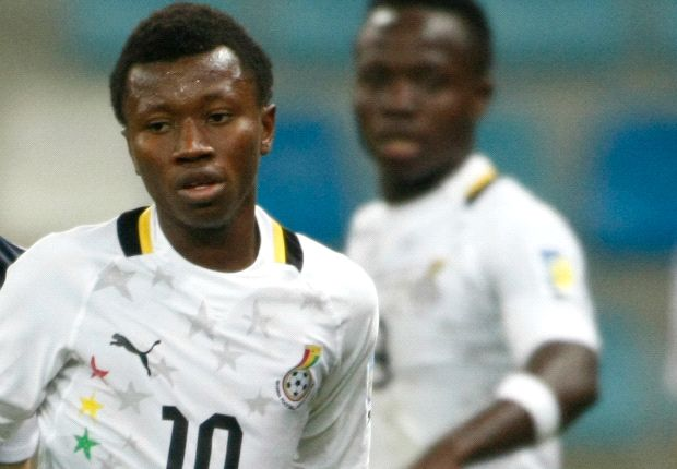 Clifford Aboagye starred for the Black Satellites
