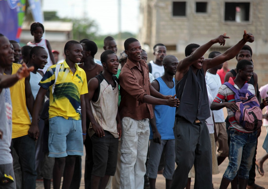 Dansoman Tigo Community Soccer.