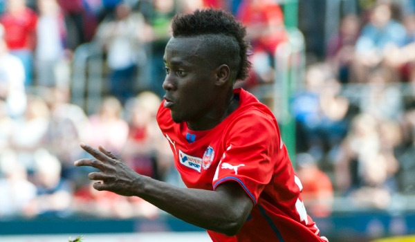 David Accam scored to send Helsingborg IF to Swedish Cup finals