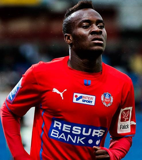 David Accam ready to fight for his place in the Ghana squad