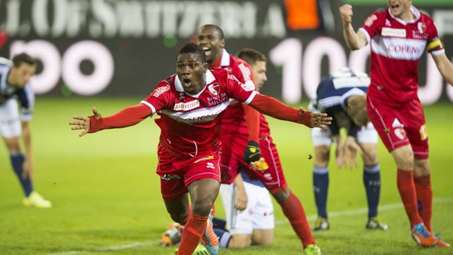 Ebenezer Assifuah scored for FC Sion