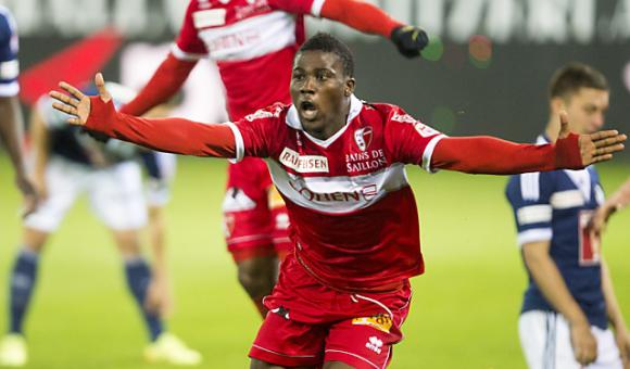 Ebenezer Assifuah scored twice for FC Sion