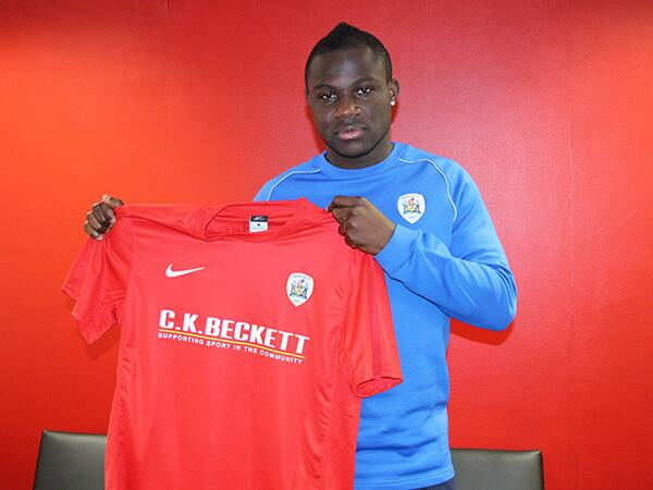 Emmanuel Frimpong joined Bransley less than six months ago