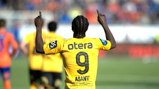 Ernest Asante relishing clash with Ghanaian compatriot Mahatma Otoo