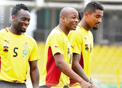 Essien, Ayew and Kevin Boateng are untouchable