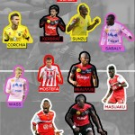 Ghana winger Majeed Waris named in best Ligue 1 XI facing relegation