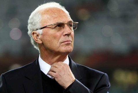 German legend Franz Beckenbauer