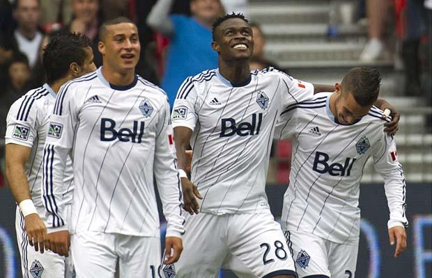 Gershon Koffie scored for Vancouver