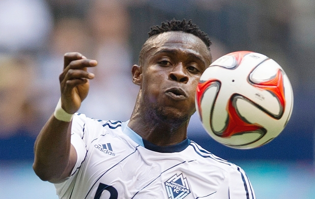 Ghanaian midfielder Gershon Koffie enjoys new Whitecap environment