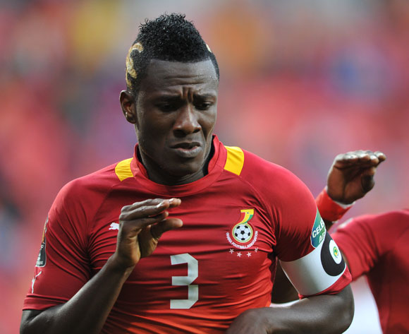 Ghana captain Asamoah Gyan