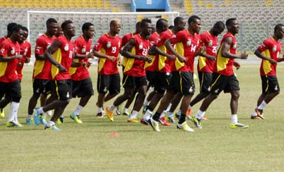 Black Stars to begin non-residential training on Tuesday