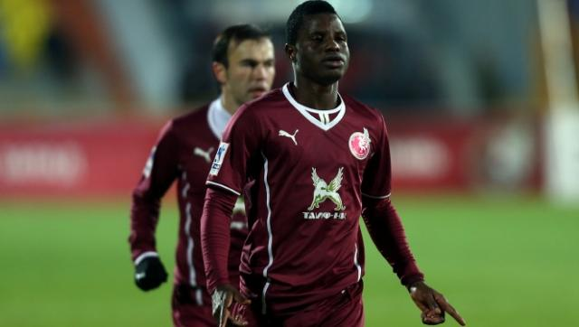 Ghana winger Wakaso scored for Rubin Kazan in their victory on Saturday afternoon