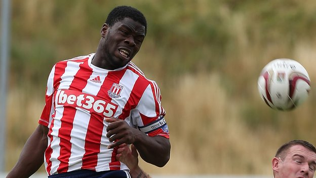 Ghanaian attacker James Alabi has returned to Stoke City after his loan deal expired