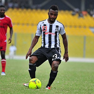 Gladson Awako's goal secured the title for TP Mazembe