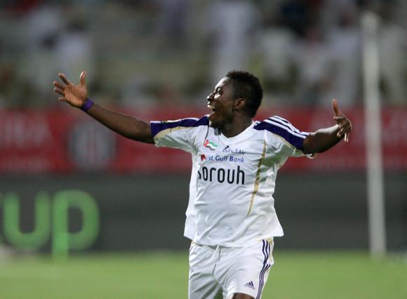 VIDEO: Watch Asamoah Gyan's brace for Al Ain in UAE top-flight